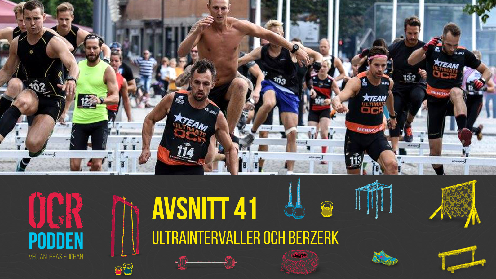 41 – Ultraintervaller och Berzerk